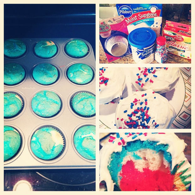 Holiday baking 4th of July