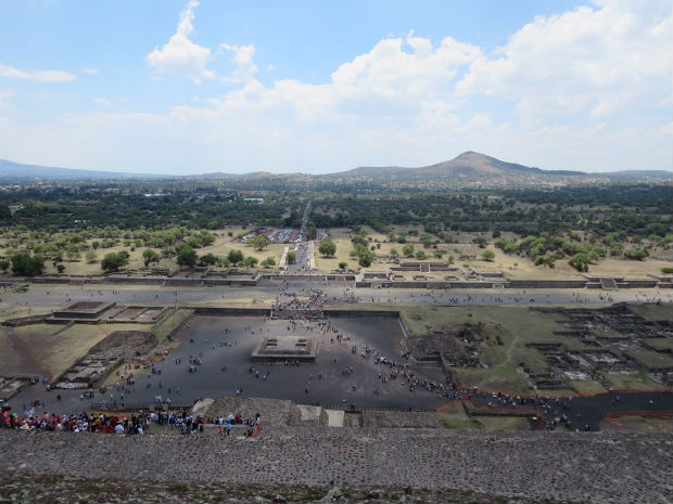 Archaeological site Teotihuacan