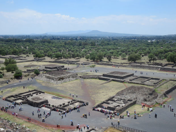 Teotihuacan archaeological Ruins