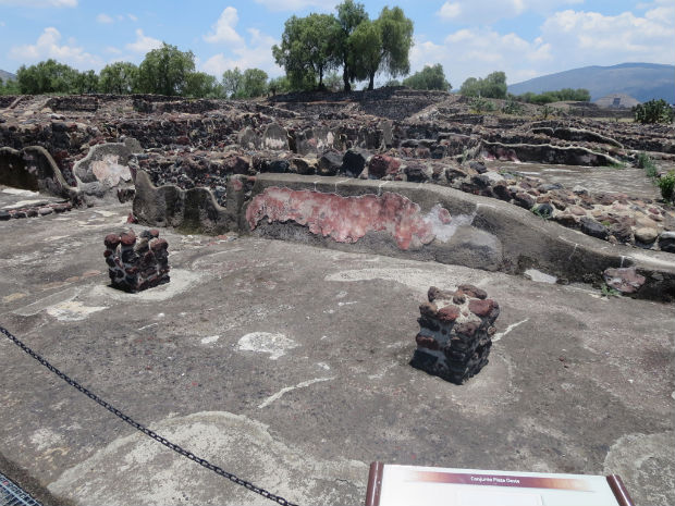 Teotihuacan ruins Mexico City