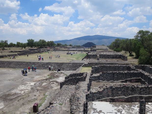 Teotihuacan historical site