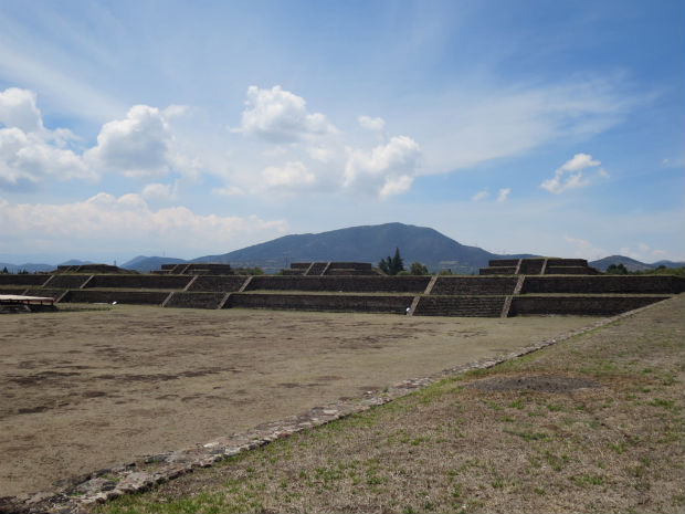 Teotihuacan archaeological site Mexico