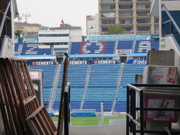 Cruz azul football Mexico City