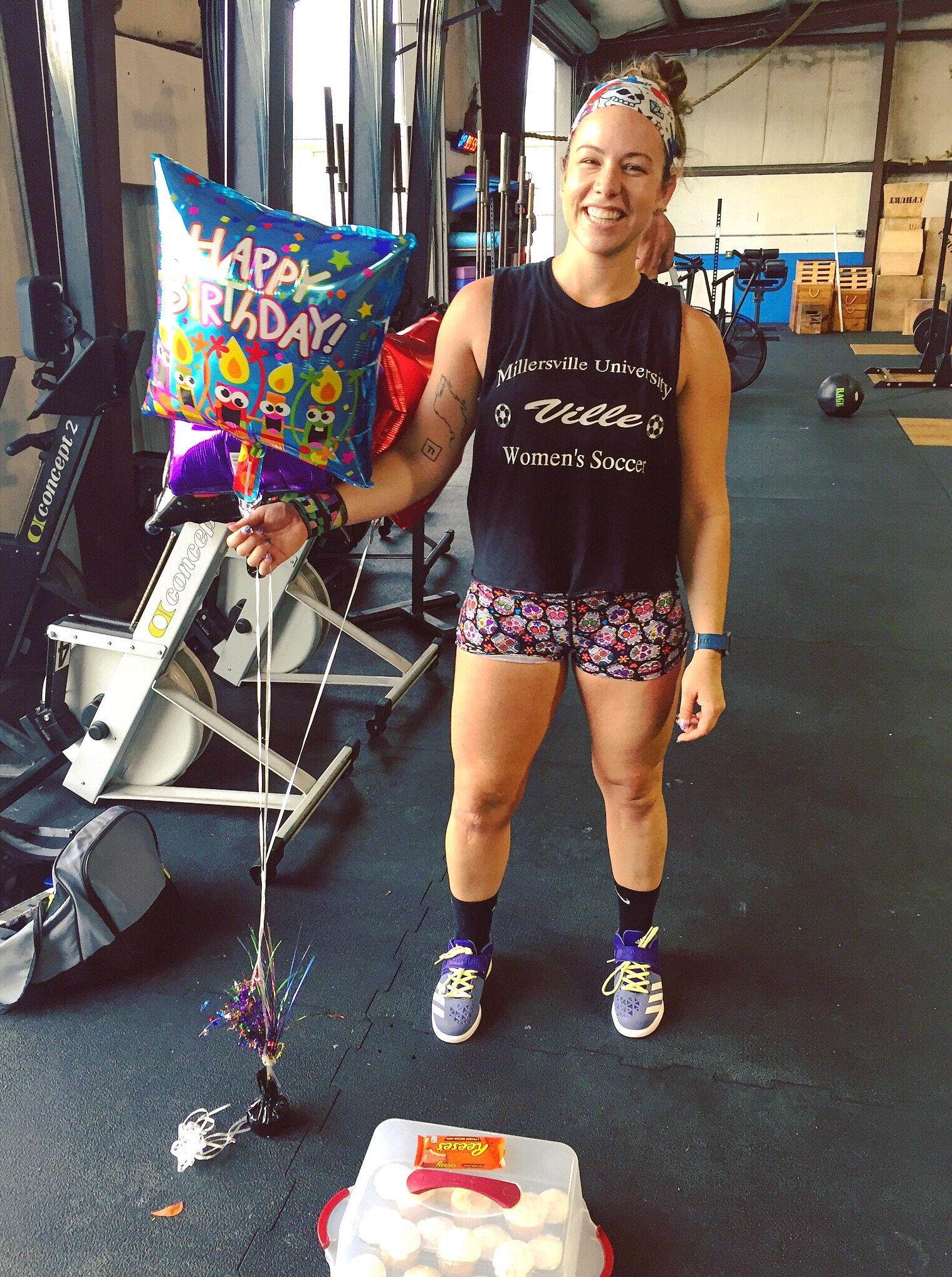 Alive, sober, happy, cupcake-eating, CrossFitting 32-year-old