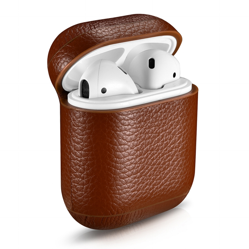 leather-airpod-case-brown-pebble-series