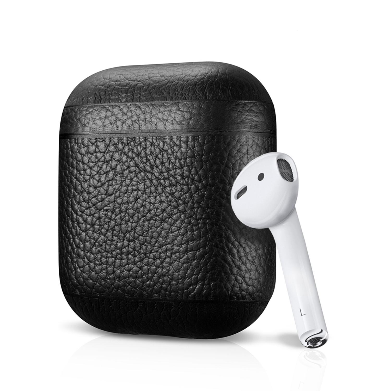 leather-airpod-case-black-pebble-series-air-vinyl-design