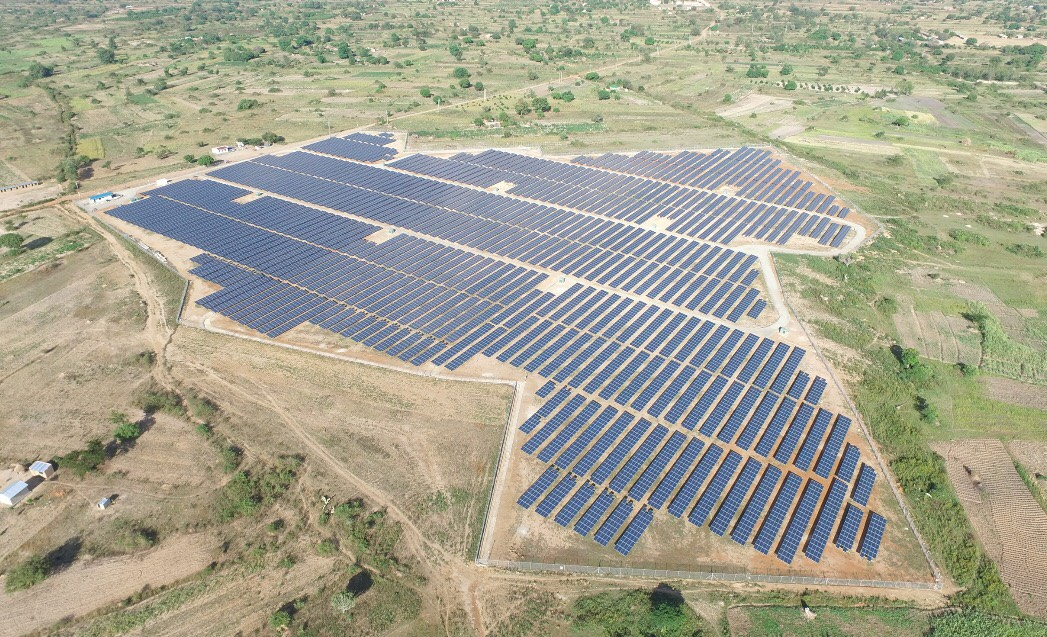 Soroti Solar Power Station, a 10 MW project developed under GET FiT Uganda. Photo credit: Access Power