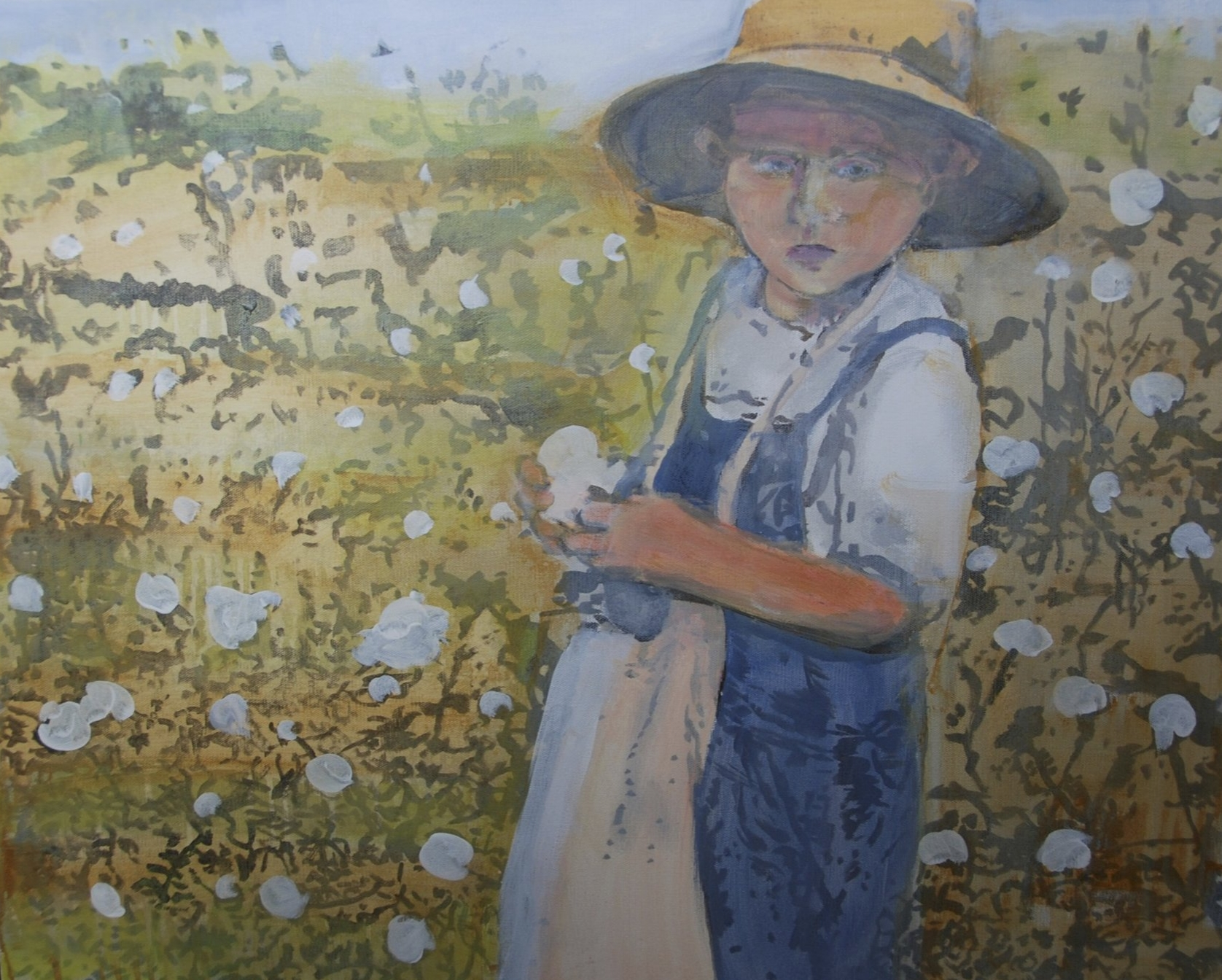 """""""Young Cotton Picker"""""""