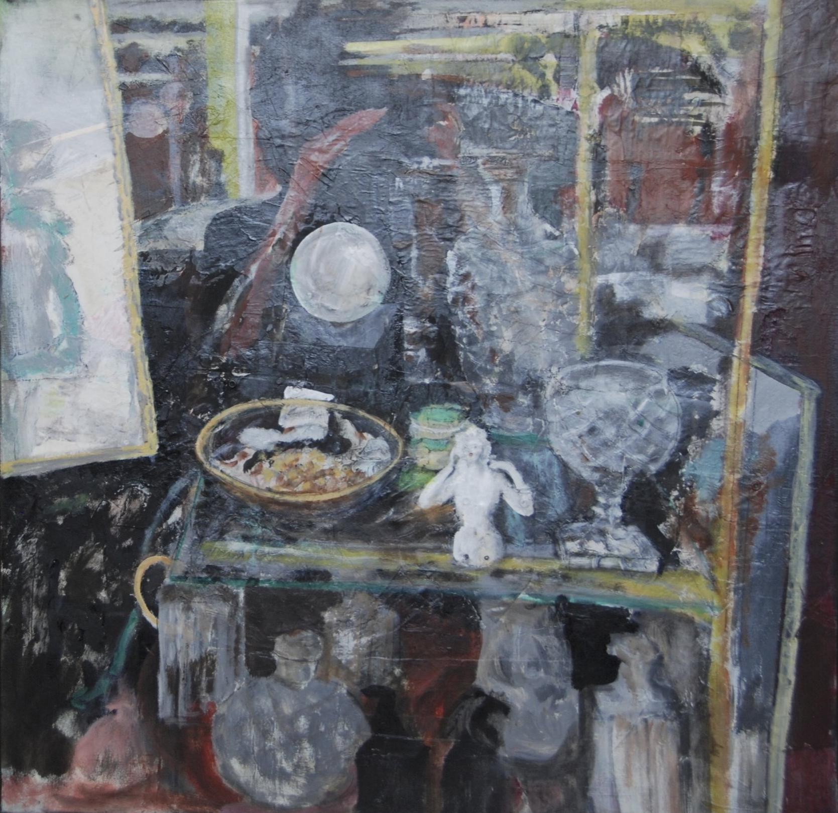 """""""Paris Shop Window: <br> Self Portrait"""""""
