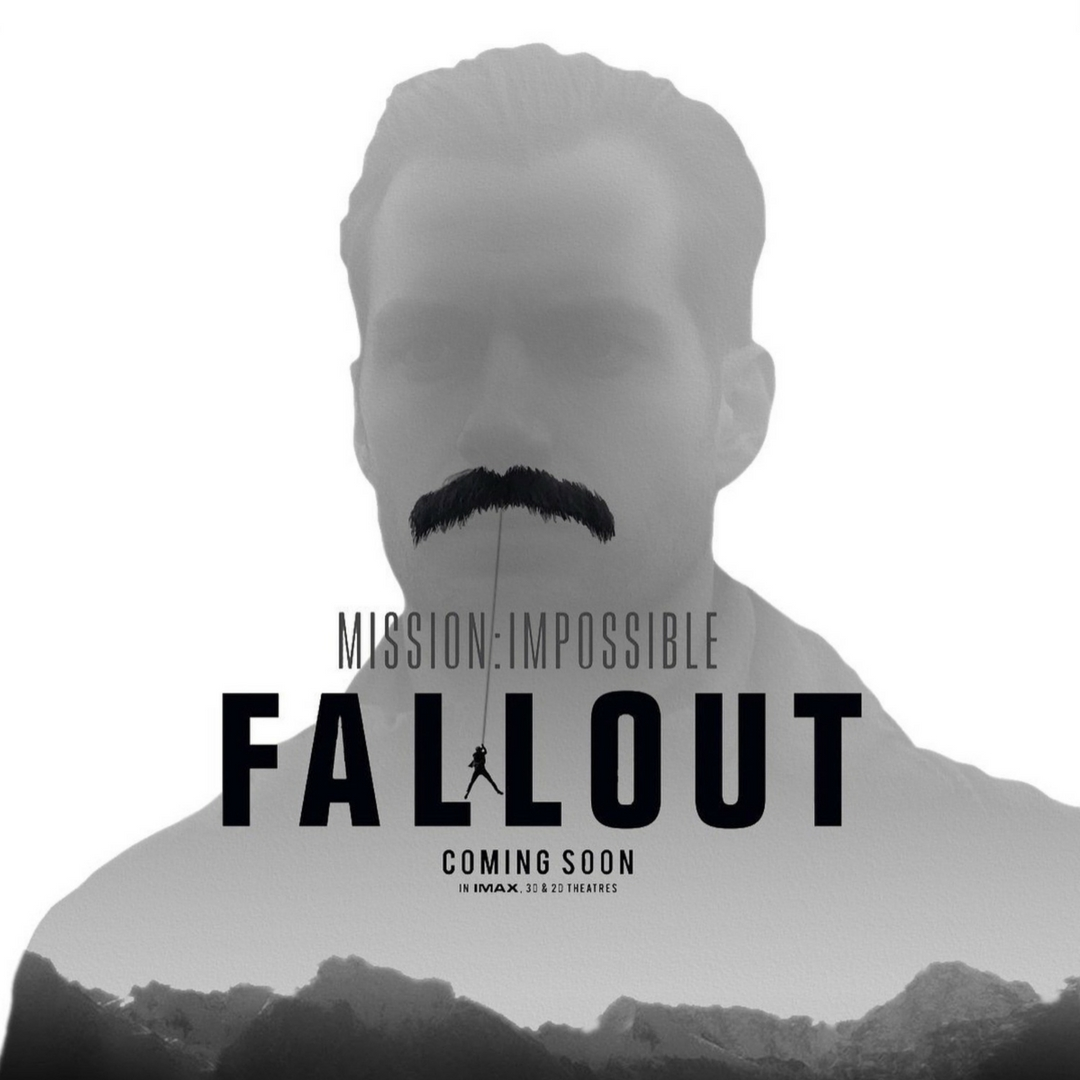 Inspiration comes from so many odd sources. The one for this post came from the much talked of tickler that graced Henry Cavill's face in the new Mission: Impossible Fallout. Since said moustache caused quite a riot, it got me thinking of another stashes that have made their mark in history.   The Homage to the Moustache   is a whimsical look at all those fine fellows who wore their whiskers with pride.