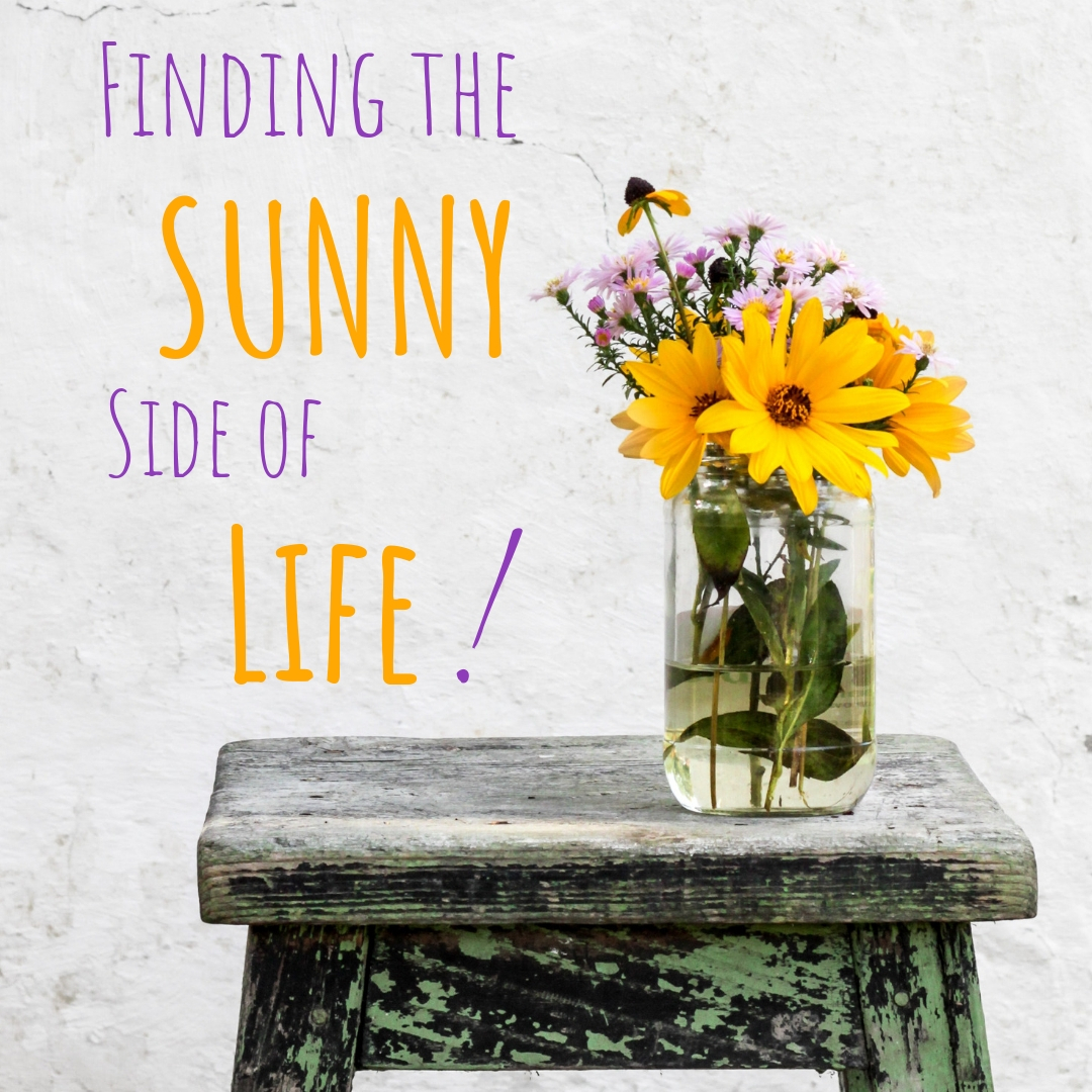 We all want to be content. To find joy in our everyday lives. It can be quite the project. However,  Finding the Sunny Side  is about a sure shot way you make sure your life is full of contentment and happiness.