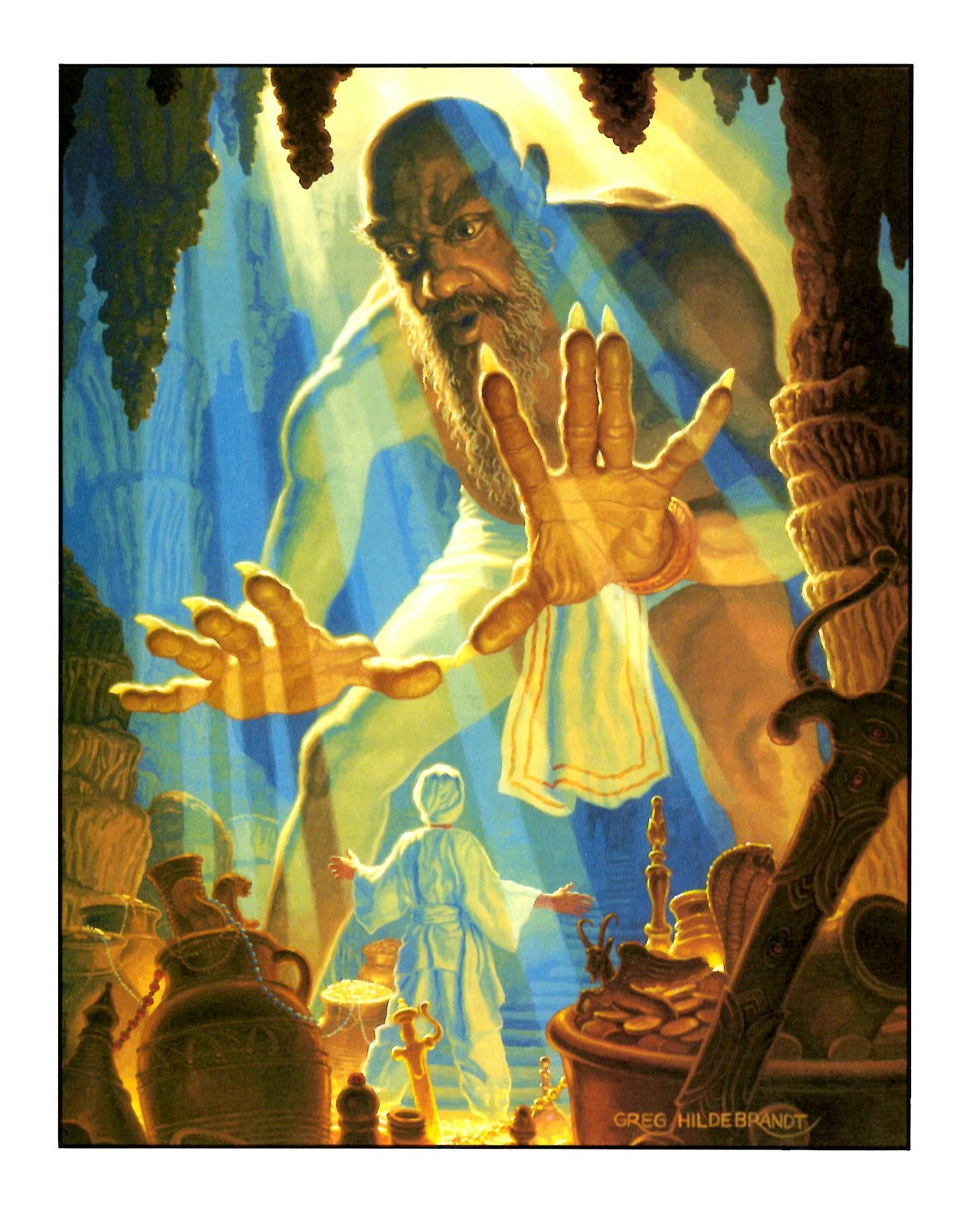 The Story of Aladdin, or The Wonderful Lamp