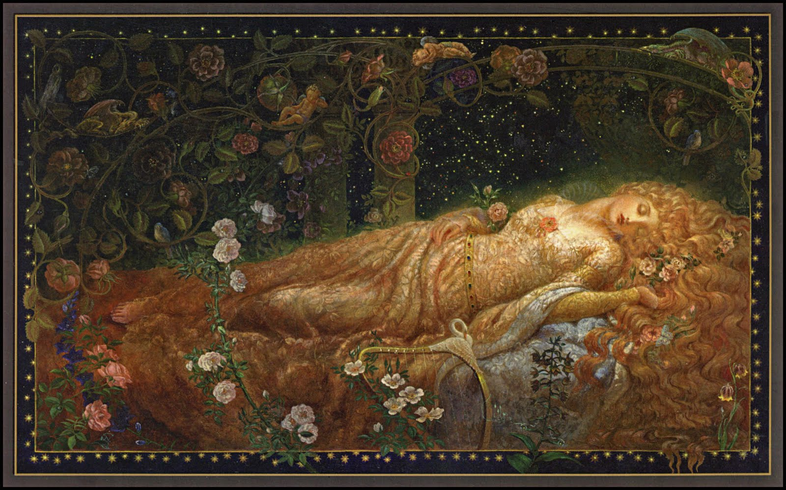 Sleeping Beauty by Kinuko V. Craft