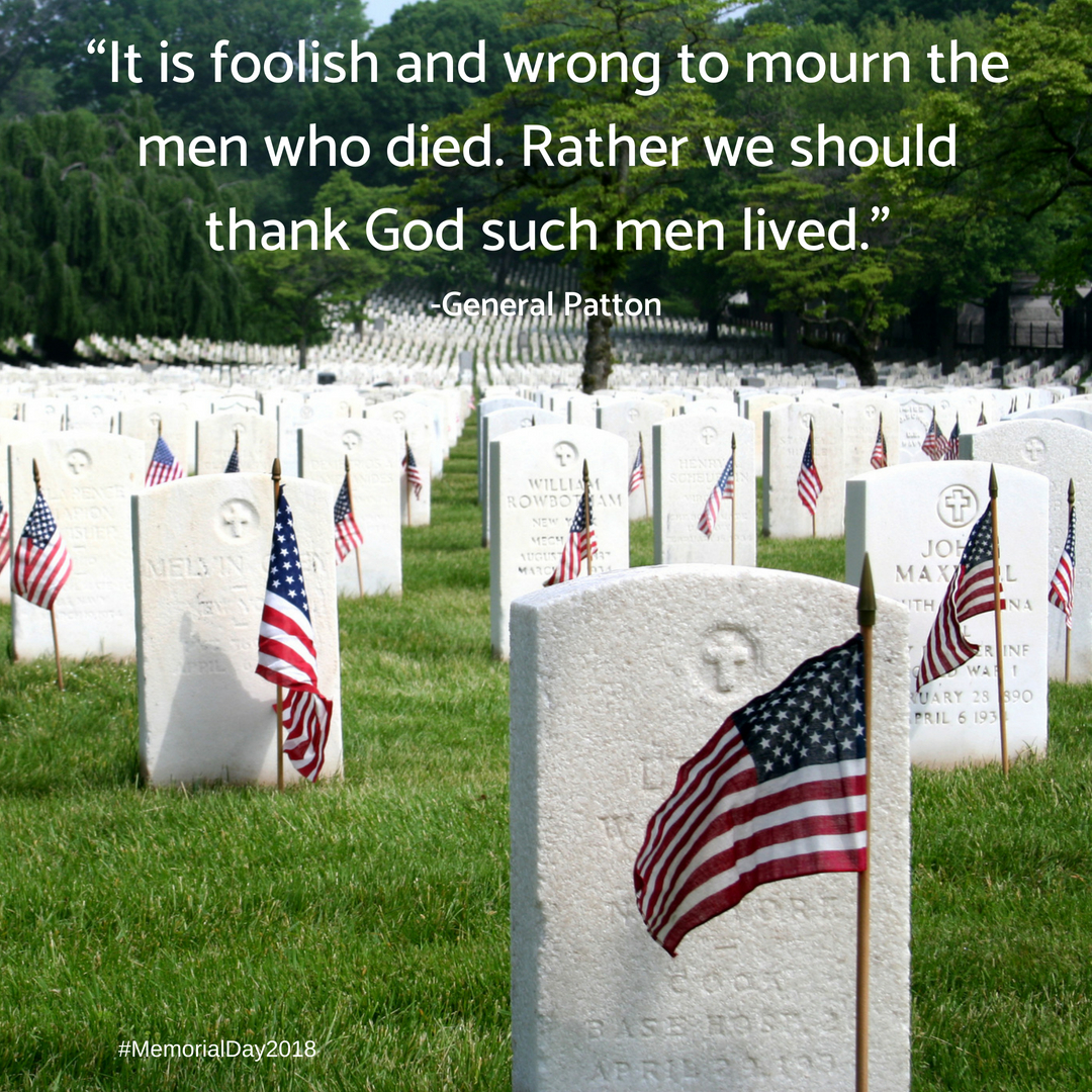 Memorial Day - It's not a history of the day, but this post is a wonderful reminder why today is so important for every American.