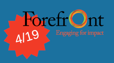 Data Visualization for Grantmakers - Thursday, April 19, 2018 9:00am to 10:30am at The Robert R. McCormick Foundation, 205 N. Michigan Avenue, 43rd Floor, Chicago, IL.This event is open to grantmaker members of Forefront.If you are interested and not a member, please contact nonprofitviz@gmail.com.