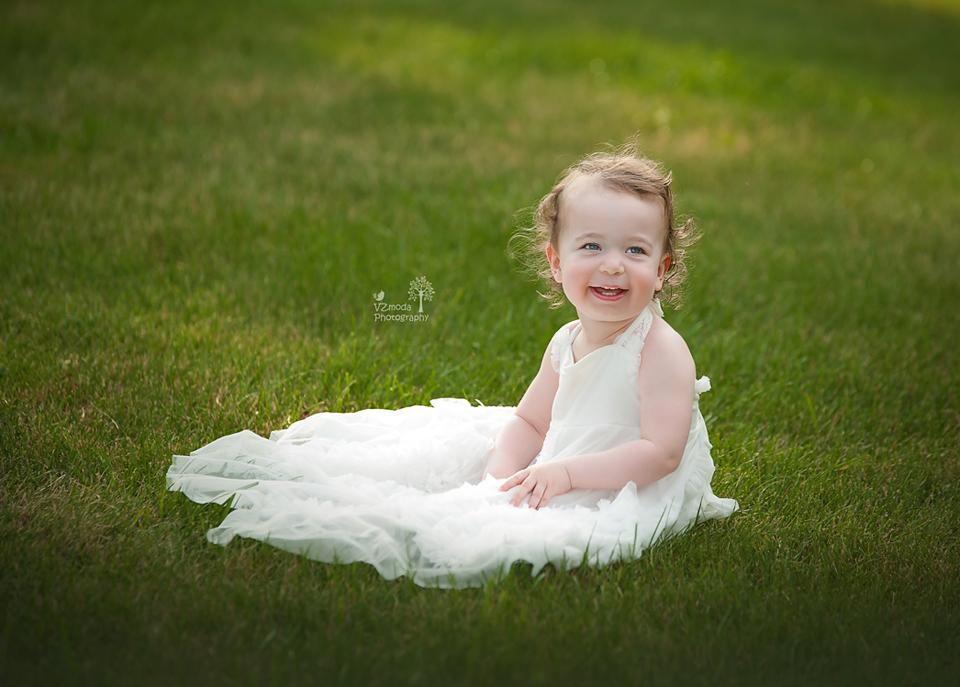Toddler smile
