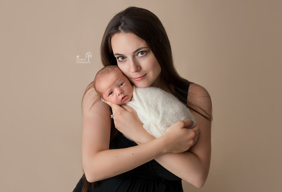 First portrait with mom