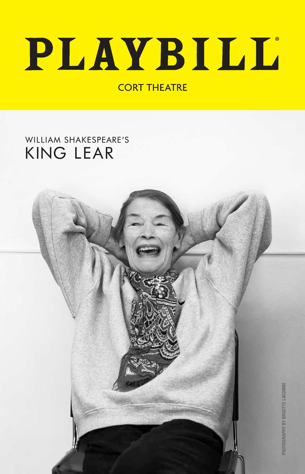 King Lear, Glenda Jackson, 2019