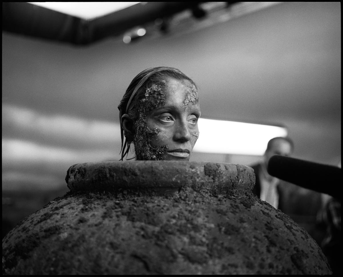 "Samuel Beckett's ""Play"", Kristin Scott Thomas, filmed by Anthony Minghella, 2001"