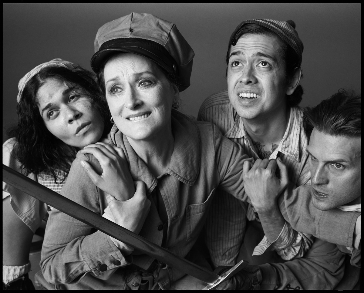 Mother Courage and Her Children, Meryl Streep and cast, Public Theater, 2006