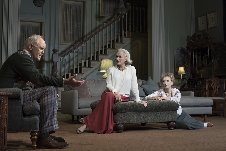 A Delicate Balance, John Lithgow, Glenn Close, Lindsay Duncan 2014