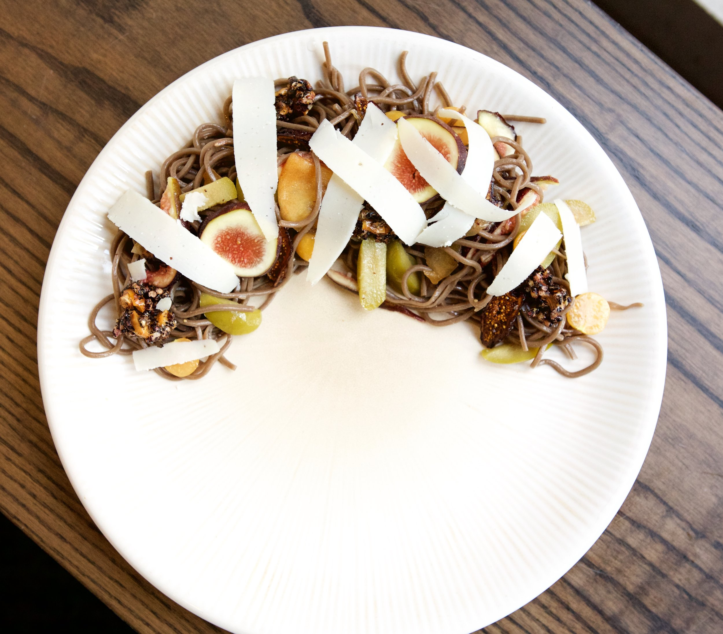 Seasonal Soba Noodle Salad...an example of what we will create