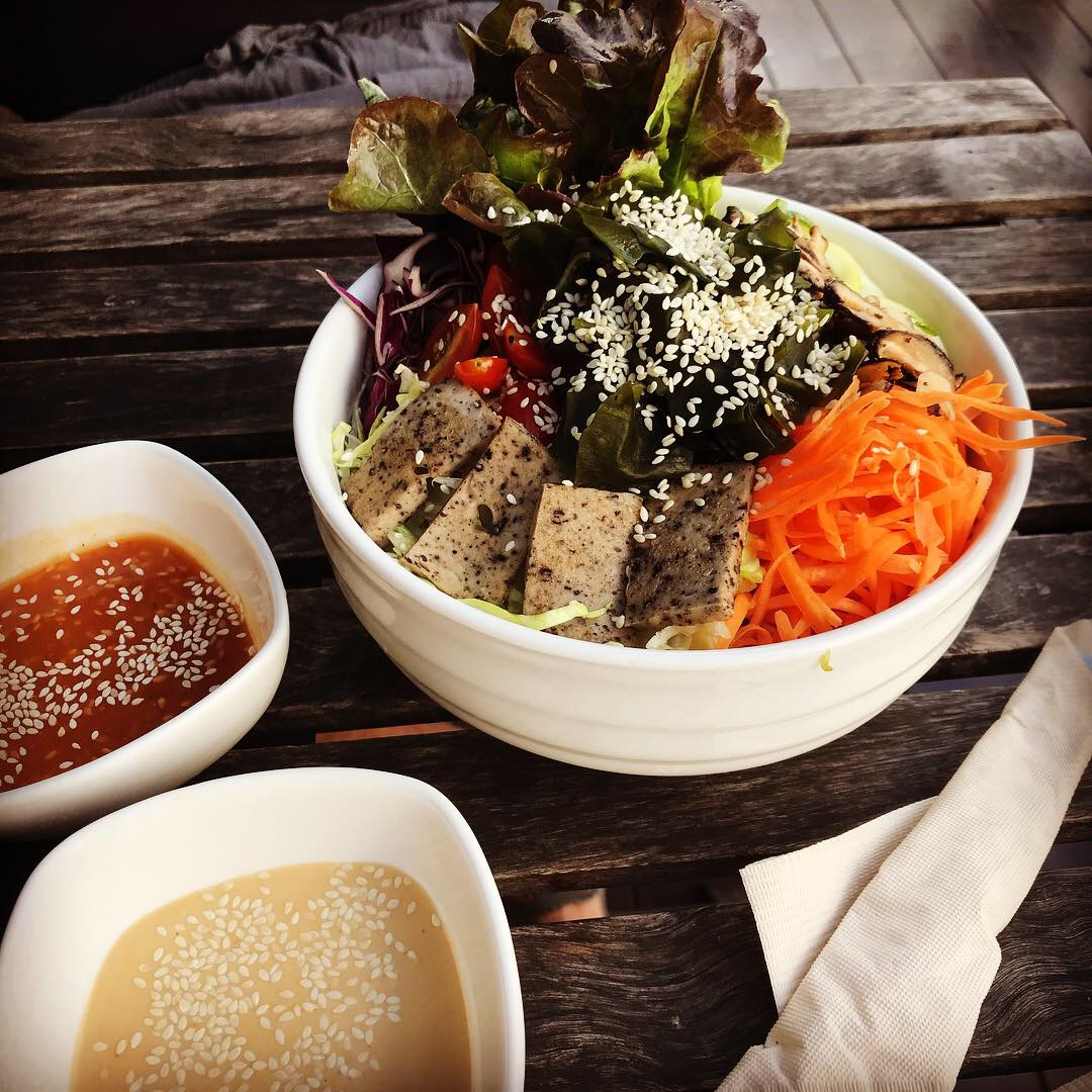 Buddha Bowl at Veganerie in Bangkok