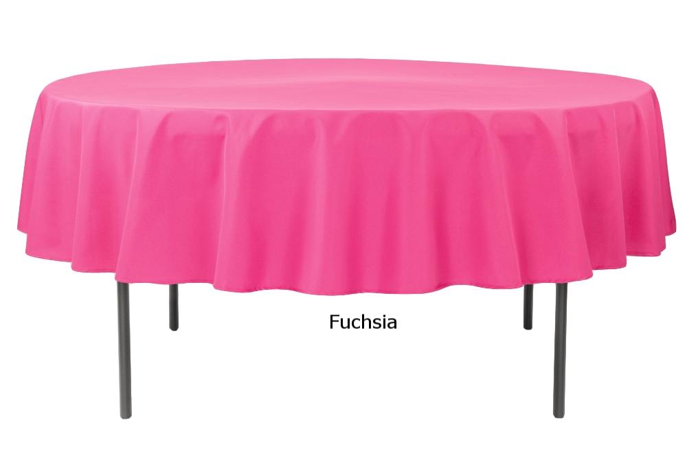 Polyester Round Fucshia.jpg