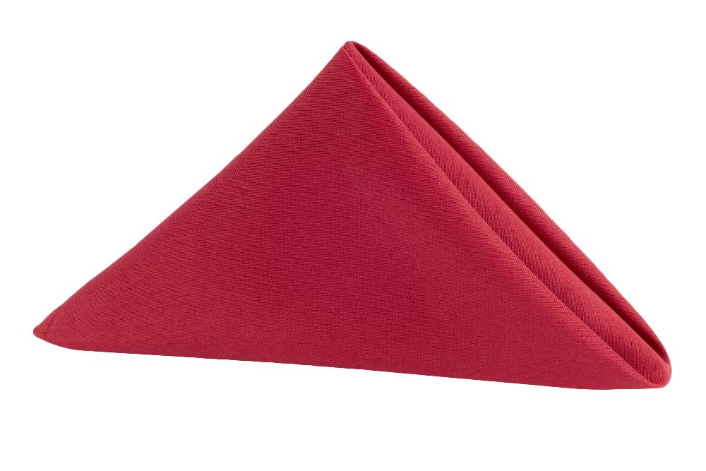 Napkin Polyester Apple REd.jpg