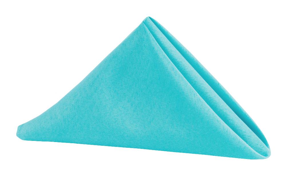 Napkin Polyester Aqua Blue.jpg