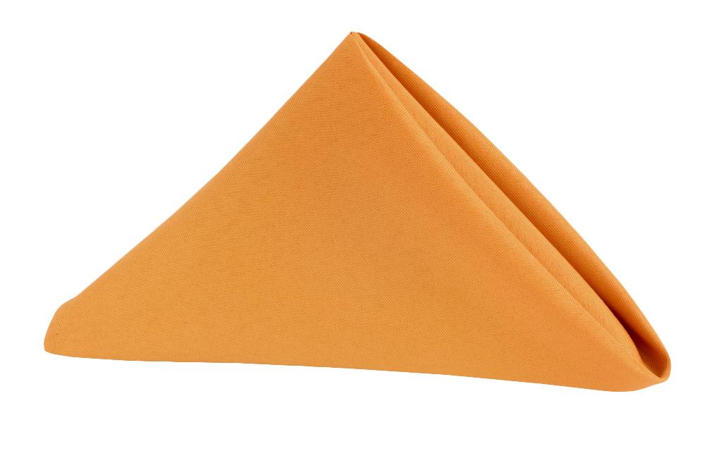 Napkin Polyester Burnt Orange.jpg