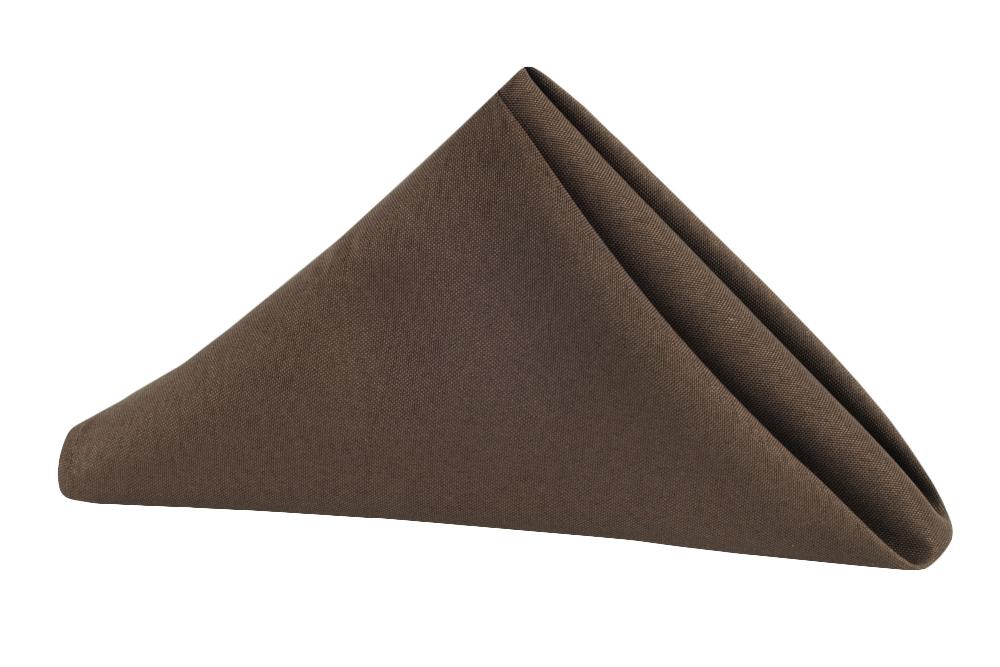 Napkin Polyester Chocolate Brown.jpg