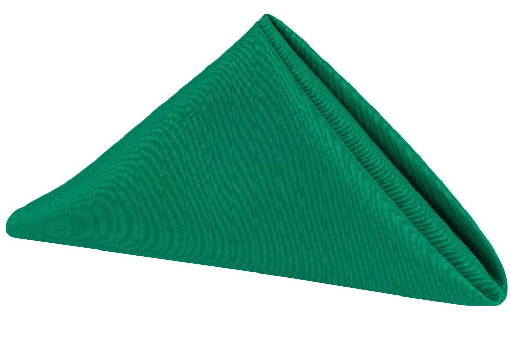 Napkin Polyester Emerald Green.jpg