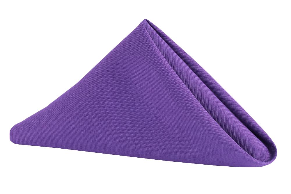 Napkin Polyester Purple.jpg