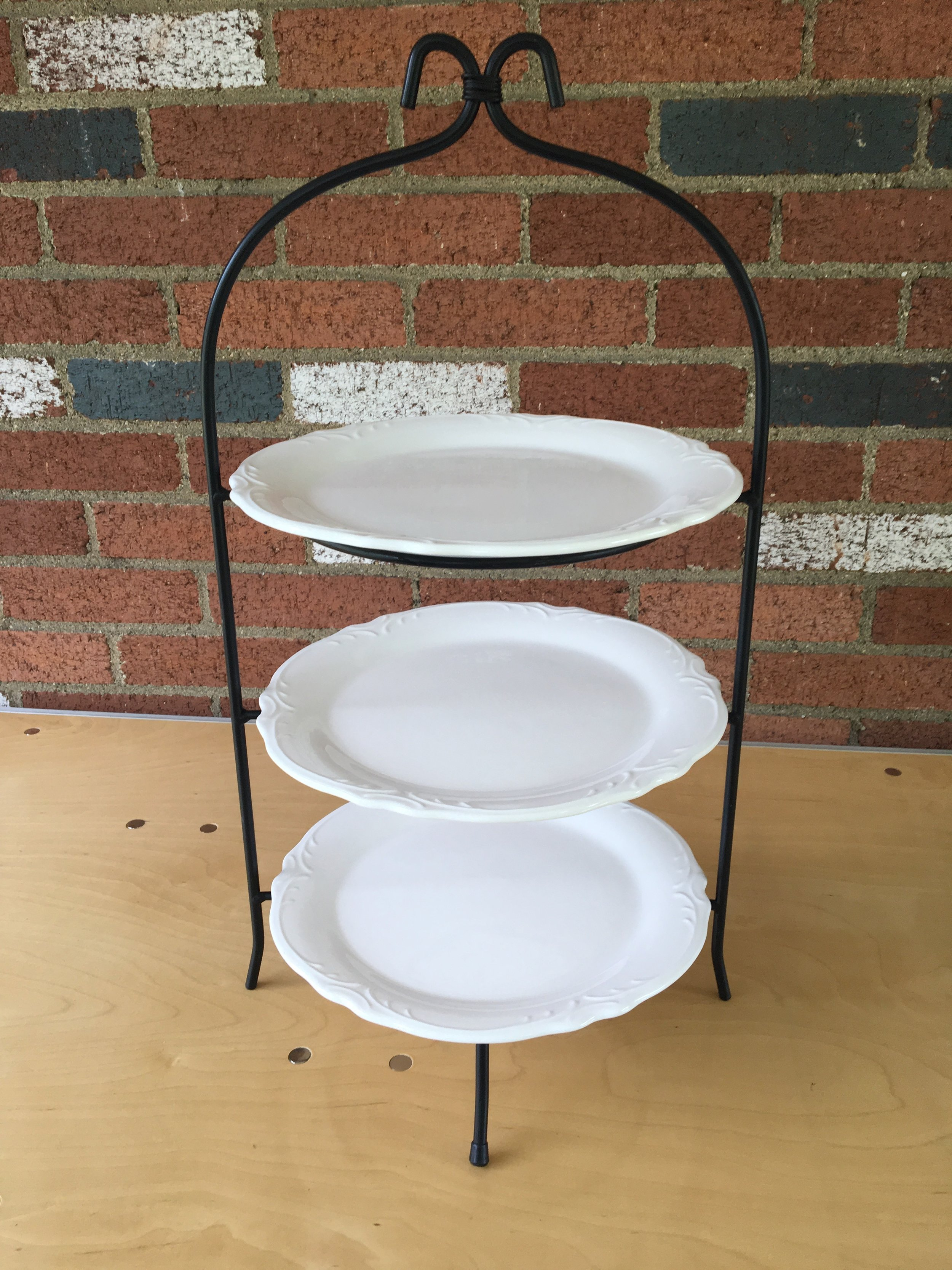 Tiered Cookie or Charcuterie Plates