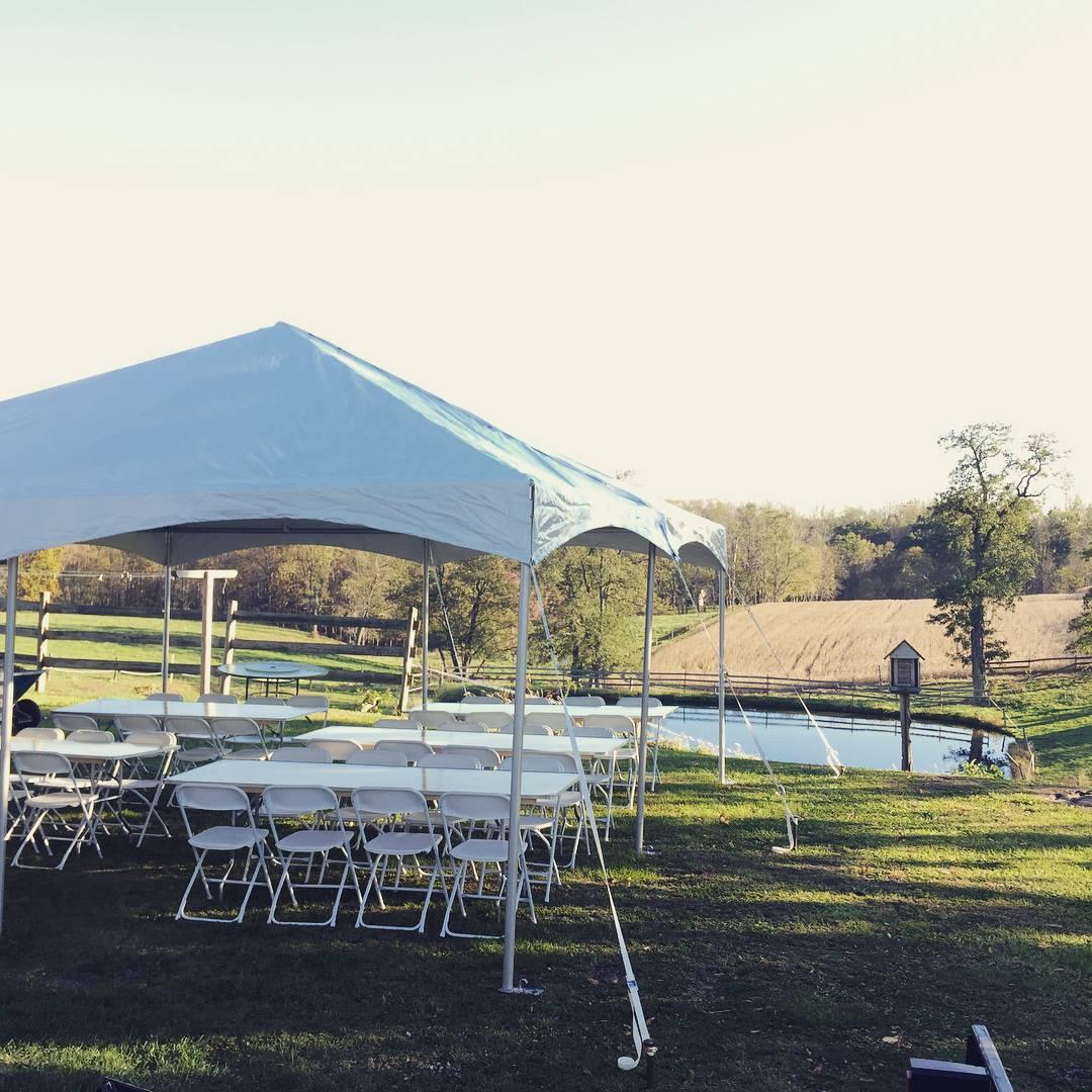 Scenic Wedding Tent