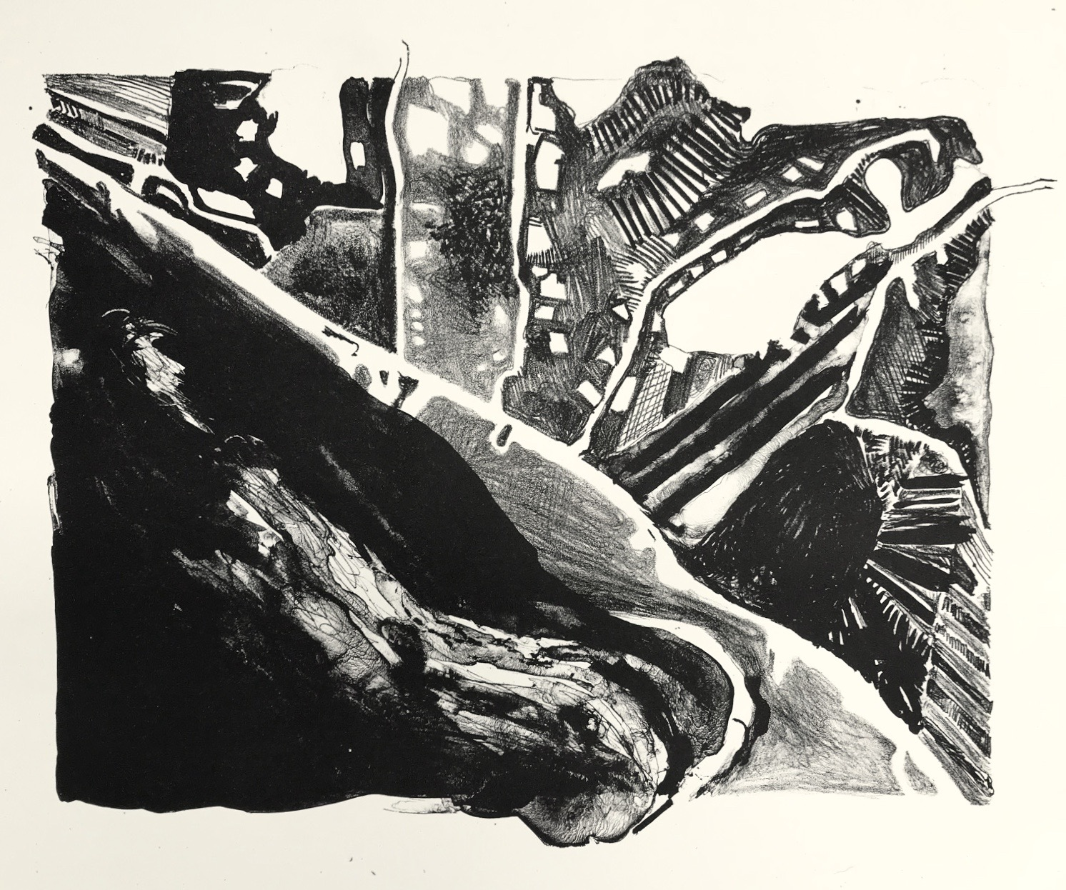 Nat Sassine  Stone Lithography
