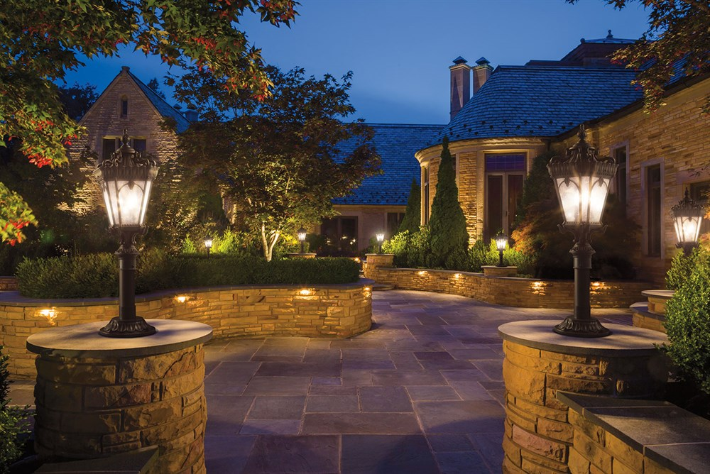 Image result for Enhance Your Landscaping With Landscape Lights And Irrigation