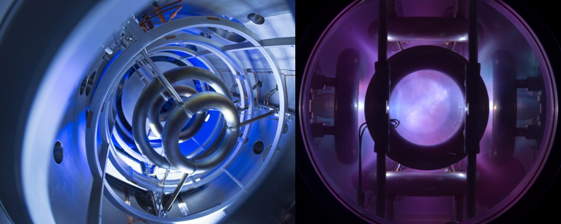 Lockheed-Martin Compact Fusion Reactor and the Polywell - two fusion approaches based on the concept that the plasma diamagnetism will reject the outside field. This could lead to an awesome plasma trap. EMC2 has struggled to raise funding in San Diego; while Lockheed has refused to publish results.