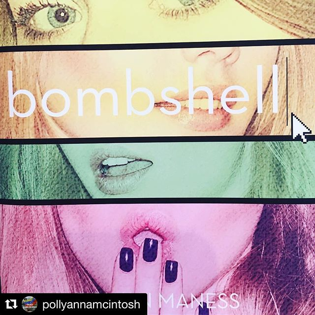 Yes, do what talented, kind, wickedly funny actress-writer-director-artist-maker of beautiful things Pollyanna says! 💋✌️ Repost @pollyannamcintosh (@get_repost) ・・・ Buy this book. Rowan Maness has written a young adult tale for the ages based on her experiences posing as women online to escape and to hone in on her true self all at once. Go to @bombshellbook for deets. Available at all good booksellers. Congratulations @idiotblush Love ya ❤️#BookCat #YA