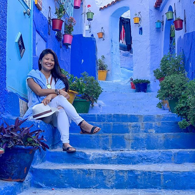 Post-holiday blues. Chefchaouen, a favorite. 💙💙💙 #adultingisoverrated #atleastimstilltan
