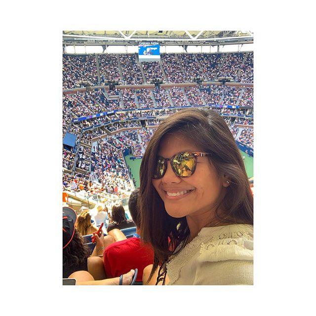 Here for the Honey Deuce and Rafa Nadal. Sports ! 🎾🍹#usopen #flushingmeadows #wheresyetta