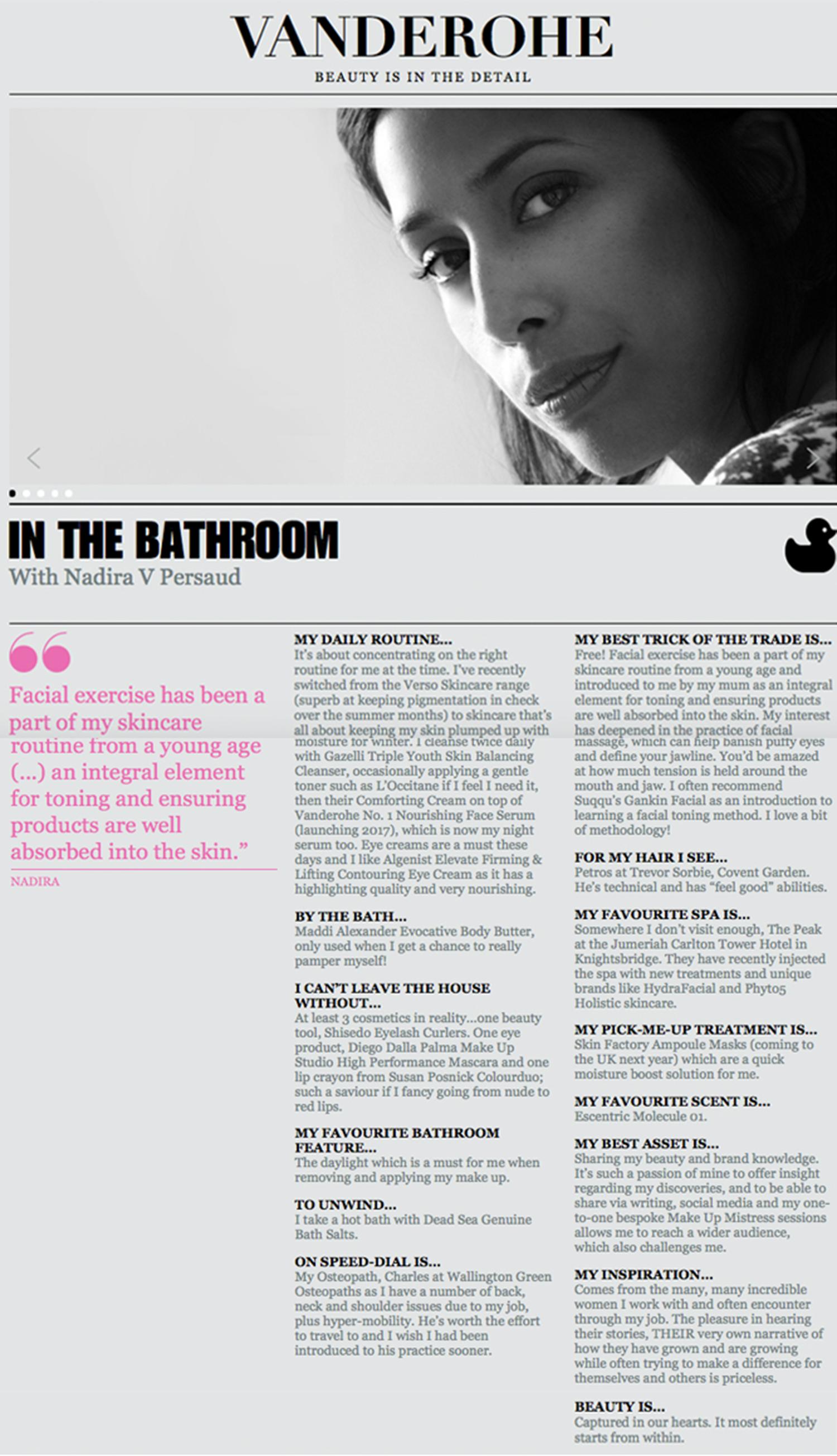 Vanderohe - In the Bathroom