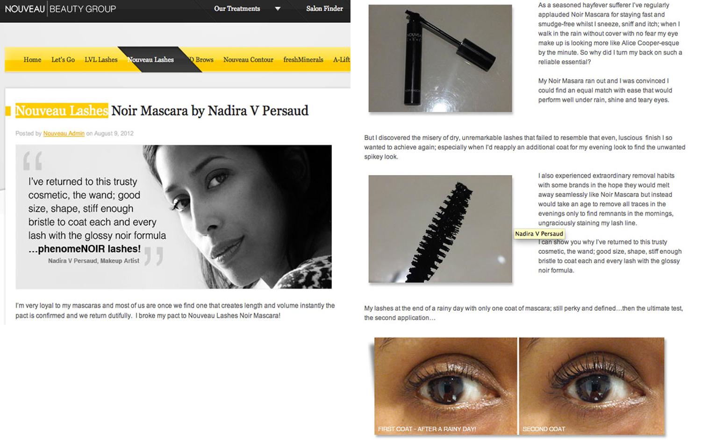 Nouveau Beauty Group, Nouveau Lashes