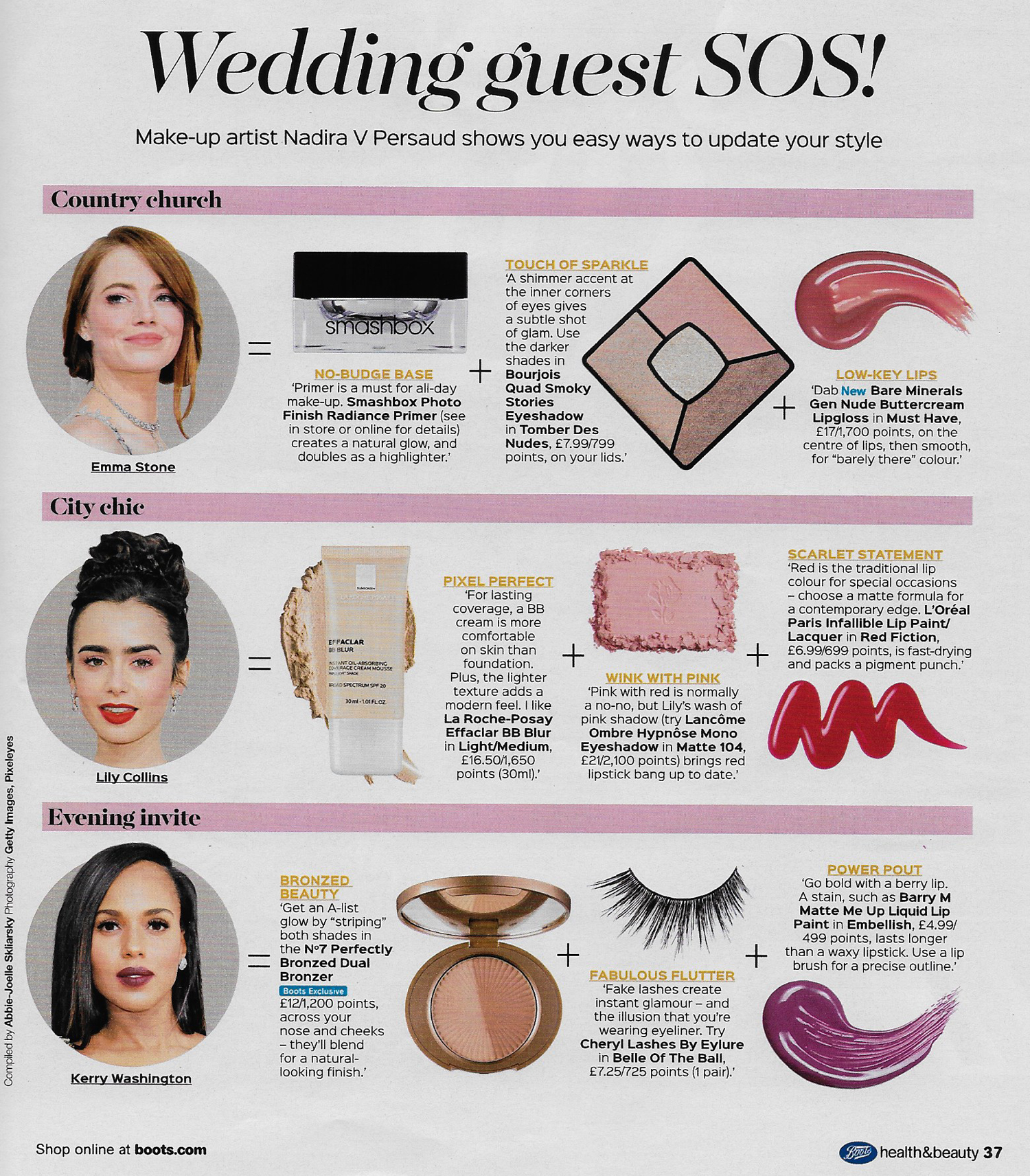 Boots Health and Beauty Magazine