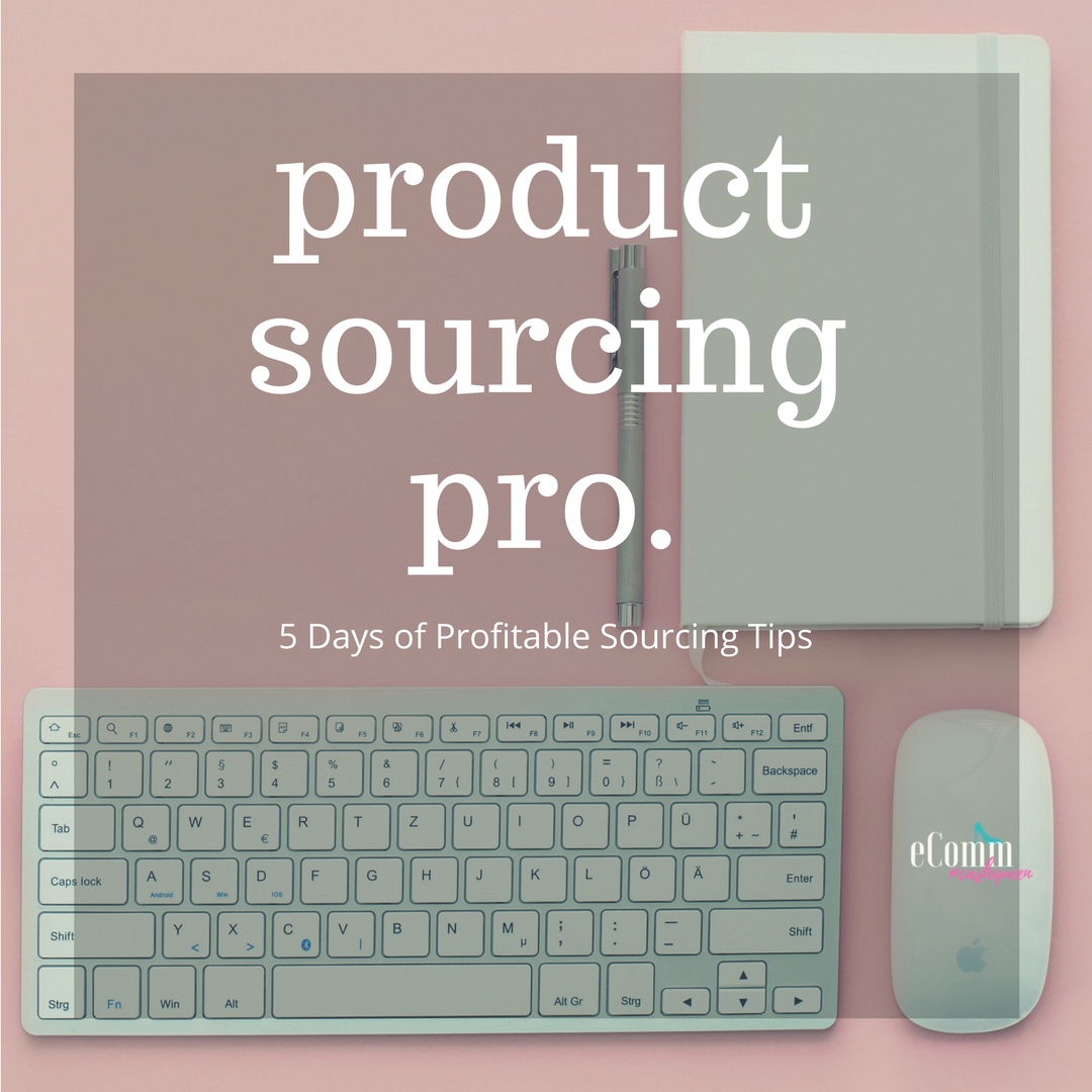 5 Days of Finding Profitable Products Starts Now - Sign up to get started below!
