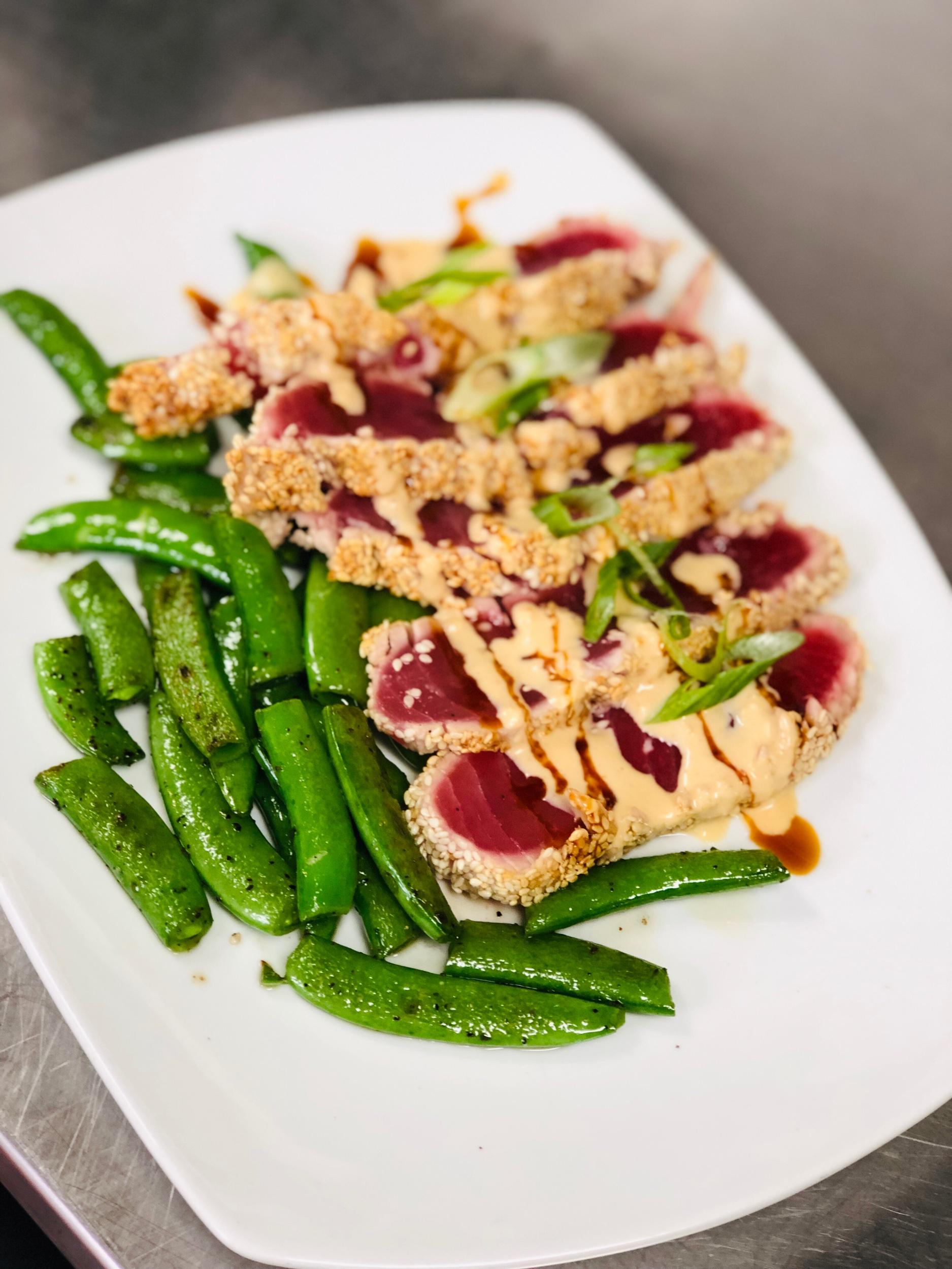 Daily Catch: Sesame Crusted Ahi Tuna