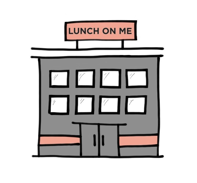 LOM Office - Lunch On Me is currently operating without an office. Our goal is to find Lunch On Me a home by 2018. Having a location will allow L.O.M to do so much more. The home-less helping the homeless.  Help us find our home. By donating to our office fundraiser, you will one of the reasons Lunch On Me doesn't go homeless.