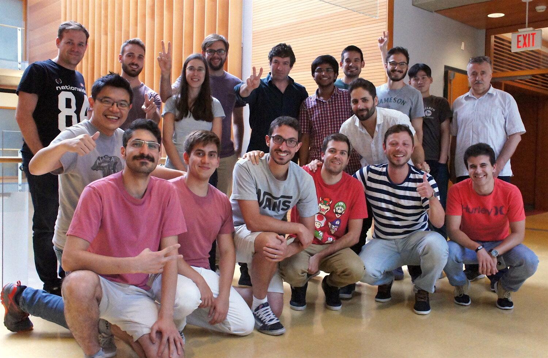 Martin Ordonez Lab Team