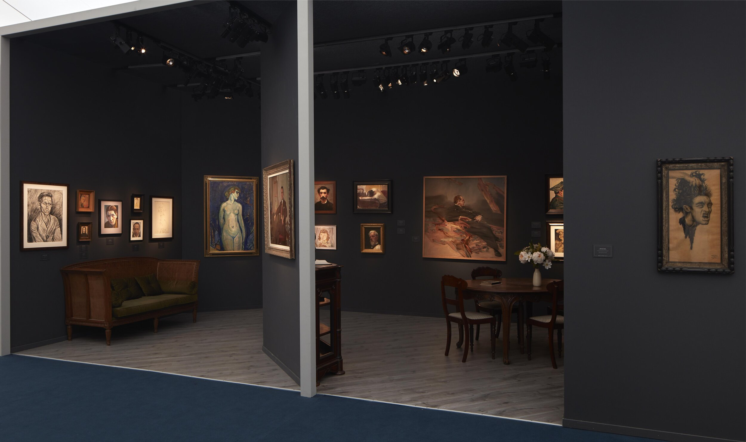 Frieze Masters stand view 5